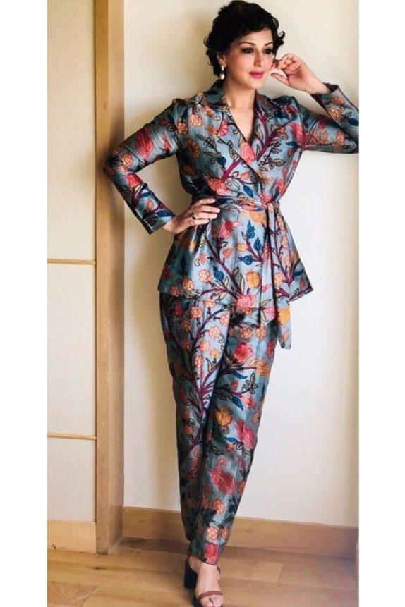 Printed Pantsuit