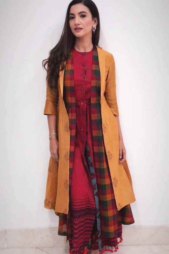 2 Layered Jacket – Kurta Set