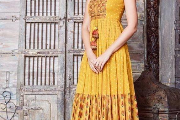 Yellow Navajo Bohemian Maxi Dress