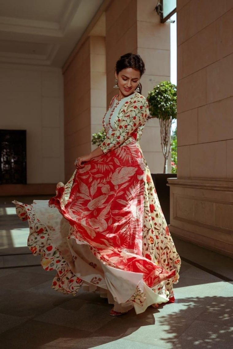 Multi Pannel Maxi Dress
