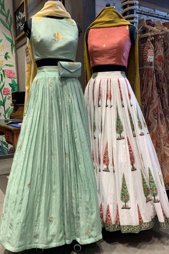 Mint & Leheria Lehenga Set