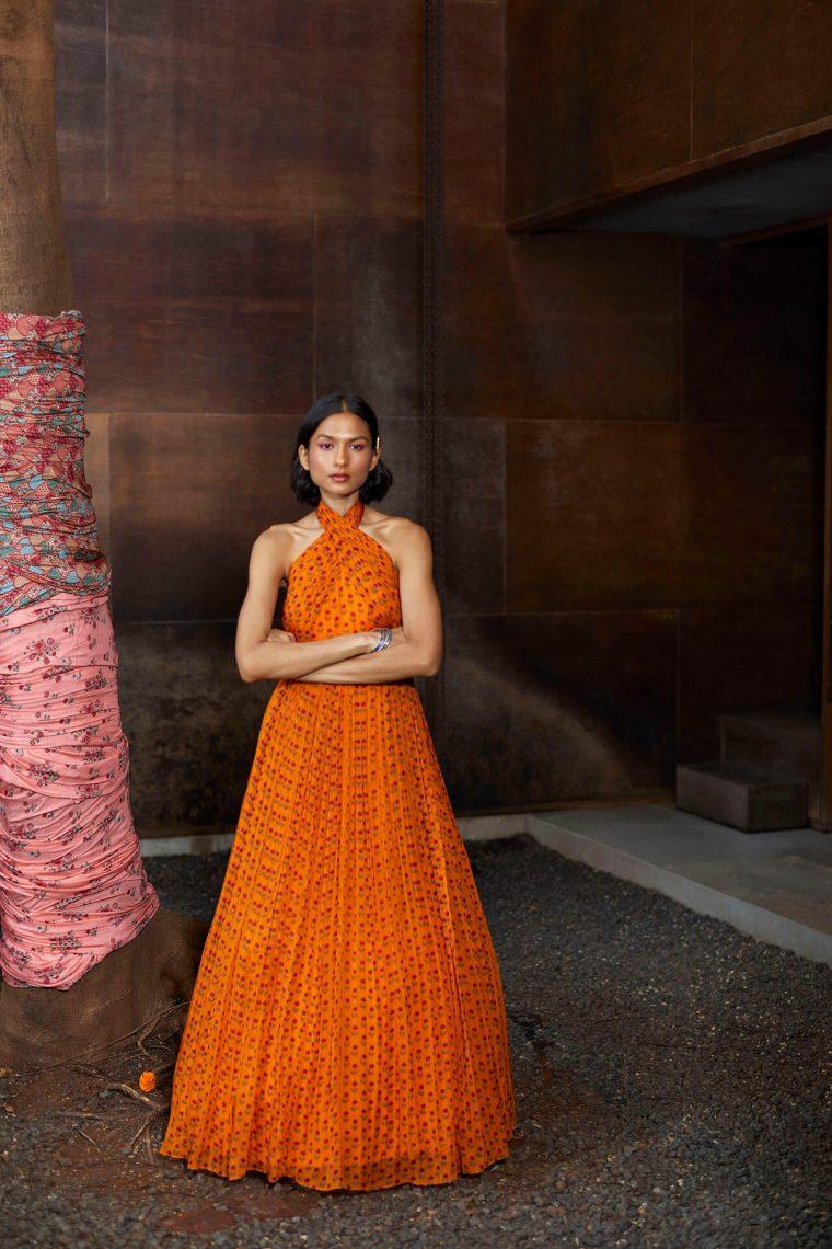 Hasya Halter Gown
